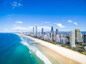Auton vuokraus Surfers Paradise, Australia