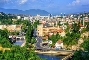 Auton vuokraus Sarajevo, Bosnia
