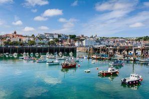 Auton vuokraus Guernsey, Iso-Britannia