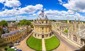 Auton vuokraus Oxford, Iso-Britannia