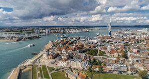 Auton vuokraus Portsmouth, Iso-Britannia