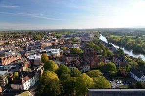 Auton vuokraus Worcester, Iso-Britannia