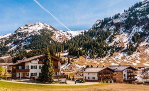 Auton vuokraus Lech Am Arlberg, Itävalta