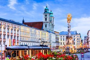 Auton vuokraus Linz, Itävalta