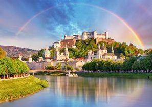 Auton vuokraus Salzburg, Itävalta