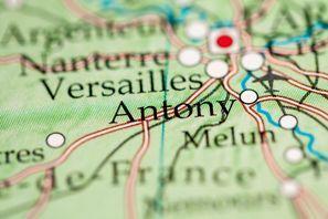 Auton vuokraus Antony, Ranska