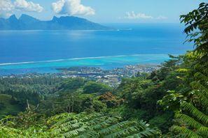 Auton vuokraus Moorea Island, Ranskan Polynesia