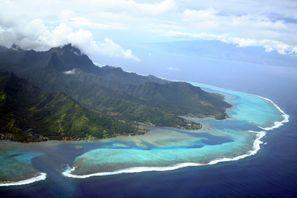 Auton vuokraus Tahiti Island, Ranskan Polynesia