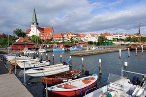 Auton vuokraus Roenne, Tanska